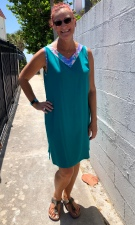 TB V dress