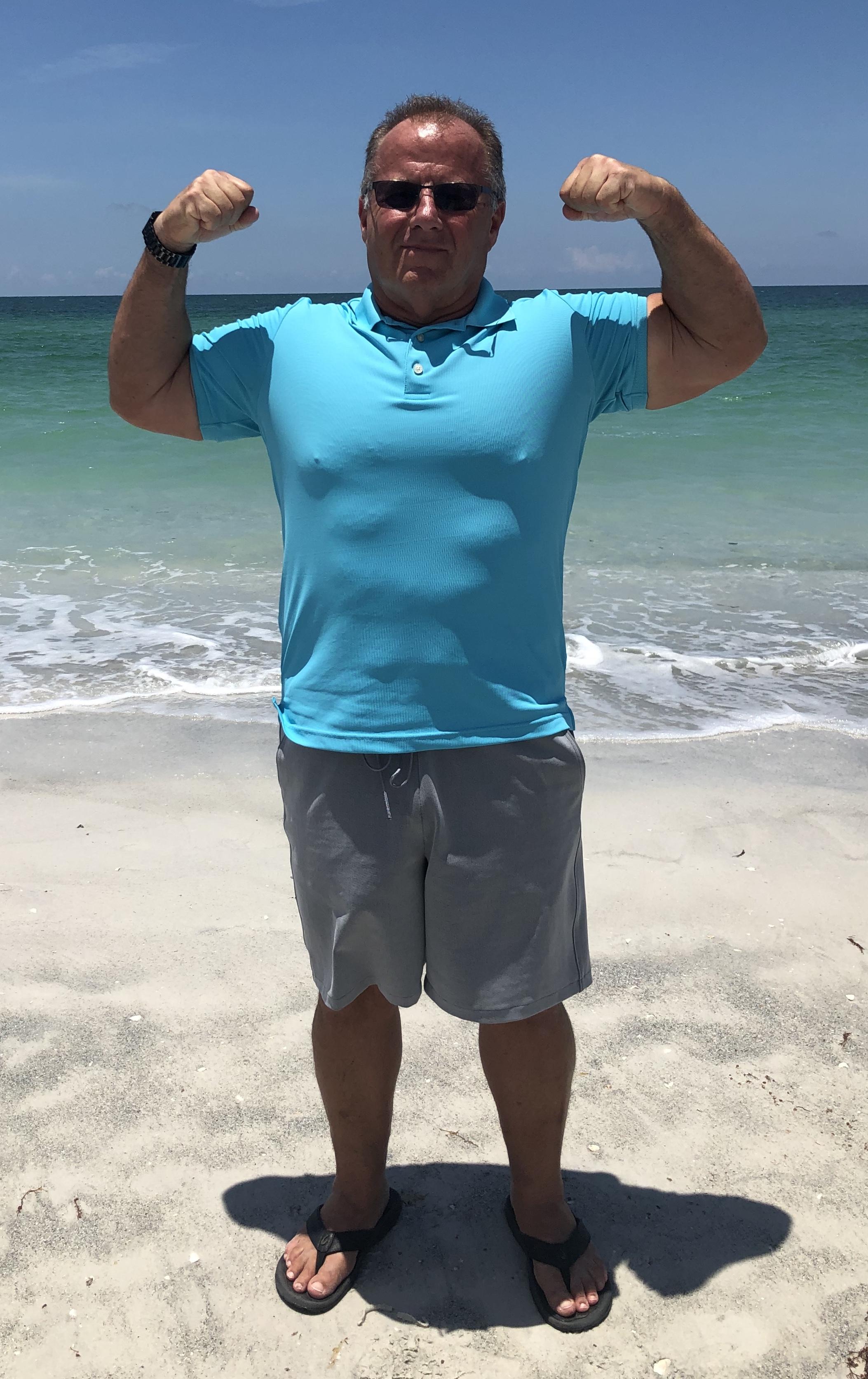 Hampton gray muscles