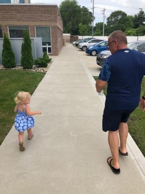 Lila Grandpa run