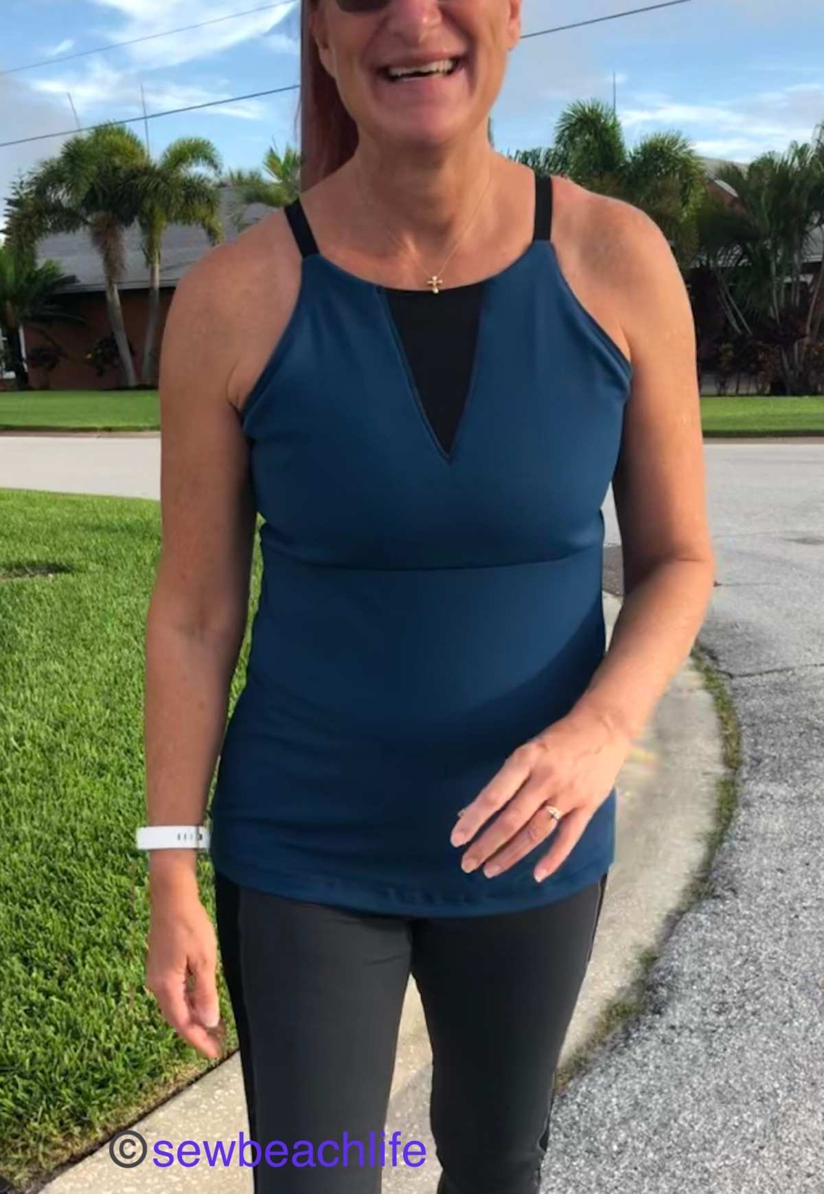 Titania Tunic Workout Top Hack