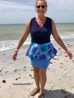 Yasmin peplum twirl