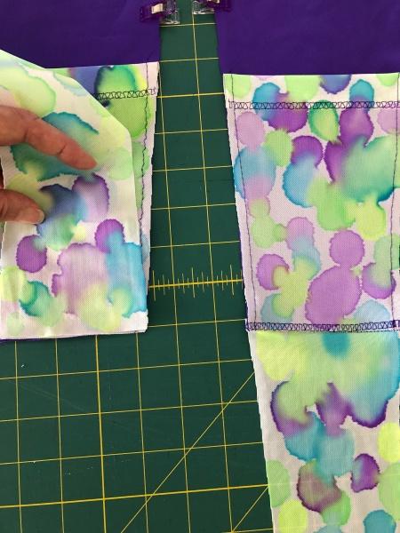 sew SG panels