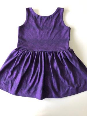 purp bday dress