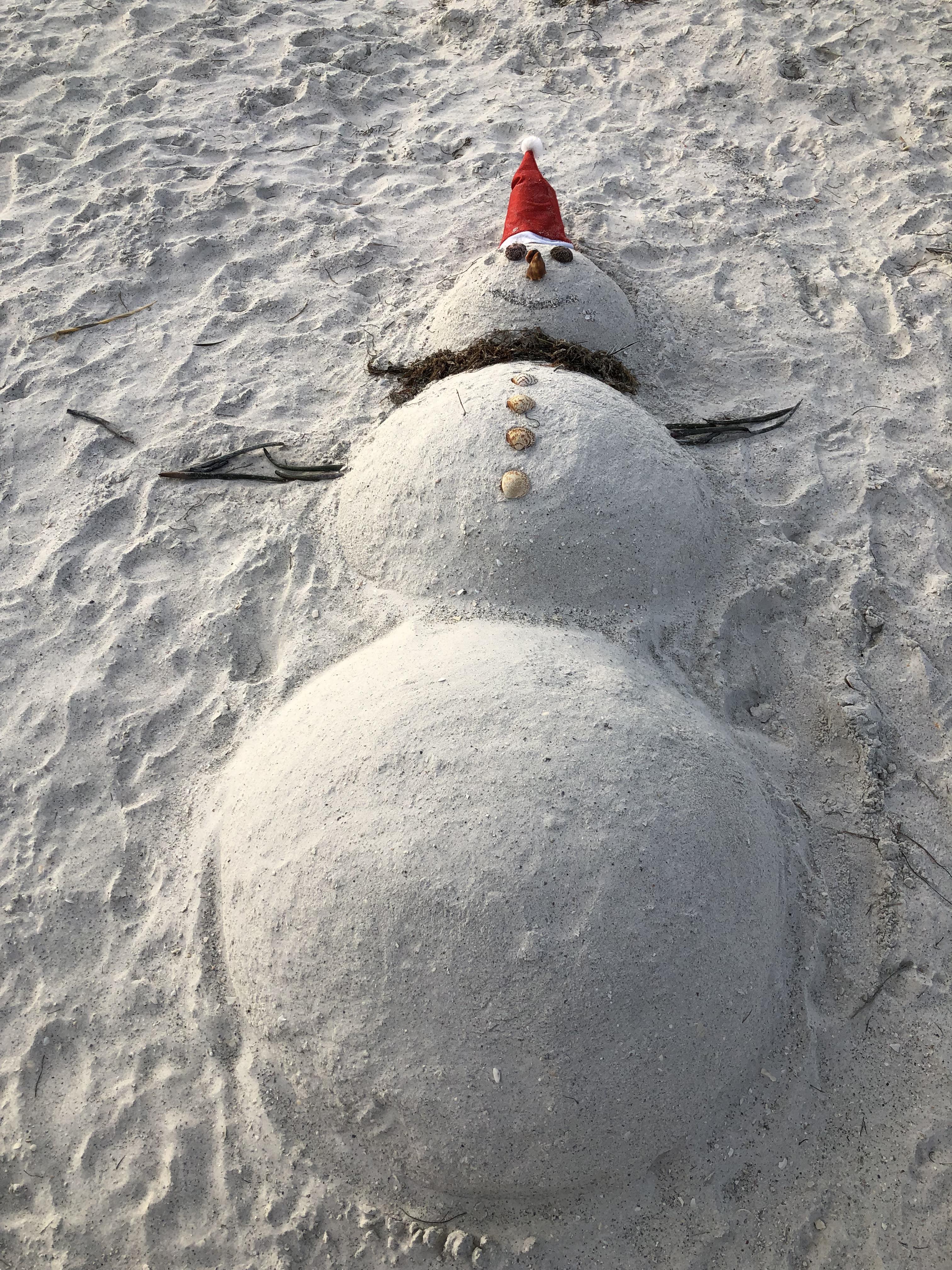 sand snow flat