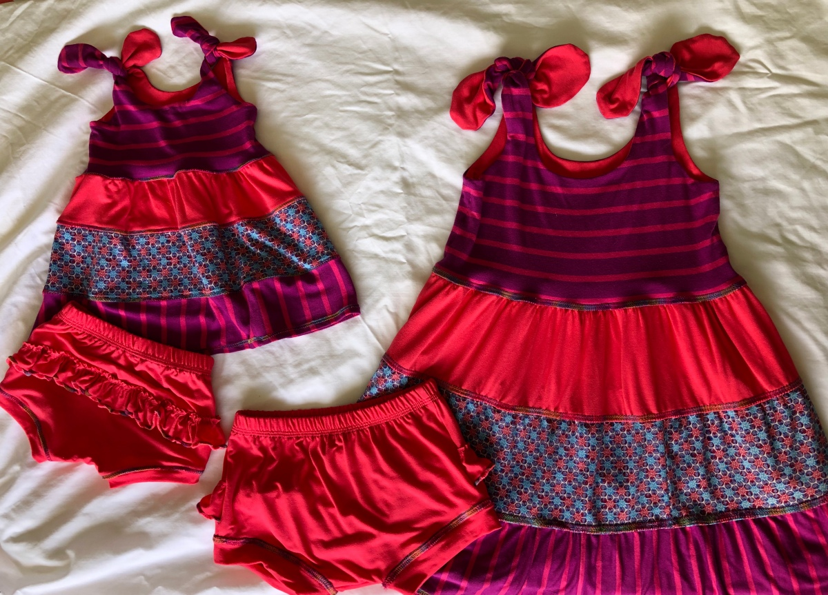 Itty Bitty & Not So Itty Bitty Baby Dresses