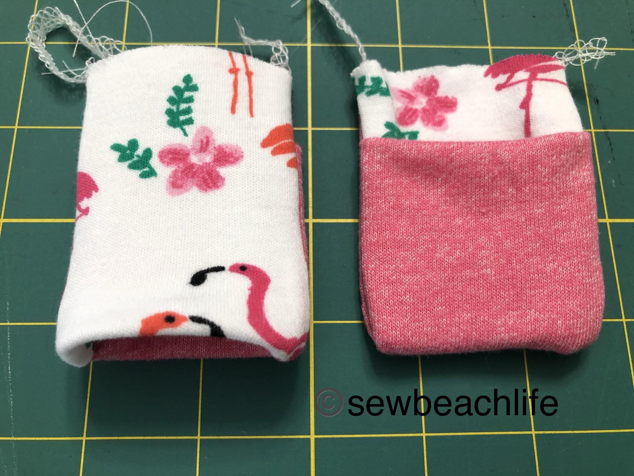 WL cuffs sewn